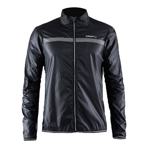 Mens Craft Featherlight Rain Jackets - Black XL