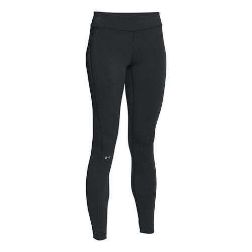 Womens Under Armour HeatGear Armour Tights & Leggings Pants - Black XL