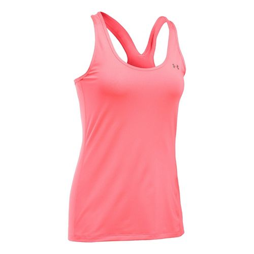 Womens Under Armour HeatGear Racer Sleeveless & Tank Tops Technical Tops - Brilliance L