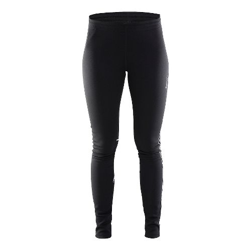 Womens Craft Flex Tights & Leggings Pants - Black/Platinum M