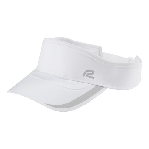 Road Runner Sports Glow Getter Visor Headwear - White