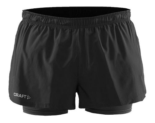 Womens Craft Focus2-in-1 Shorts - Black S