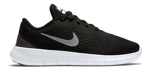 Kids Nike Free RN Running Shoe - Black 2Y