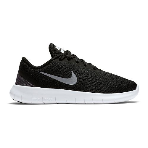 Kids Nike Free RN Running Shoe - Black 12C
