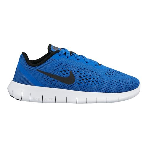 Kids Nike Free RN Running Shoe - Royal 1Y
