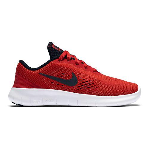 Kids Nike Free RN Running Shoe - Red 13C
