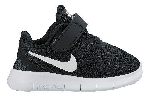 Kids Nike Free RN Running Shoe - Black 7C