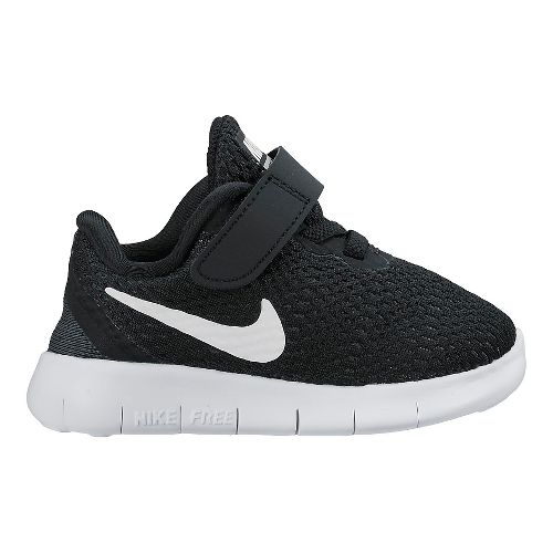 Kids Nike Free RN Running Shoe - Black 7C