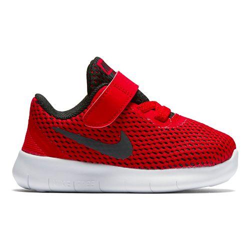Kids Nike Free RN Running Shoe - Red 5C
