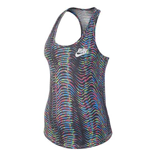 Womens Nike Run Flow Sleeveless & Tank Technical Tops - Multi L