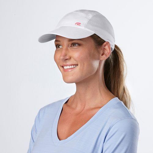 Road Runner Sports Sun Scape Cap Headwear - White