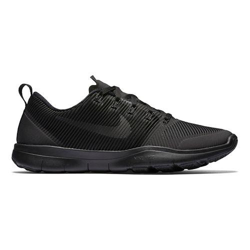 Mens Nike Free Train Versatility Cross Training Shoe - Black/Black 11.5