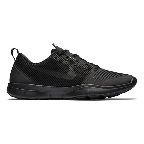 Mens Nike Free Train Versatility Cross Training Shoe - Black/Black 12.5