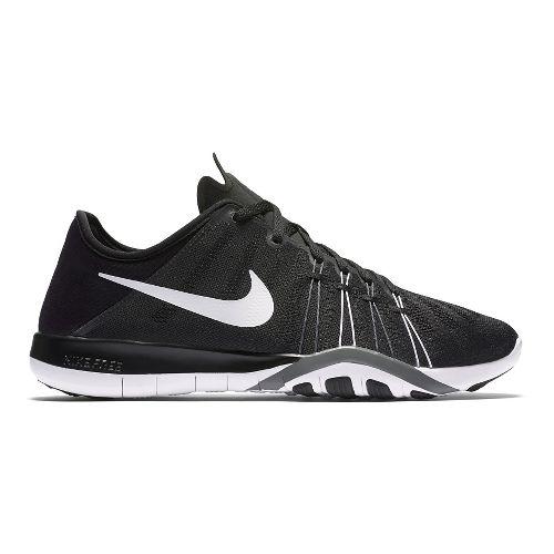 Womens Nike Free TR 6 Cross Training Shoe - Black/White 7.5