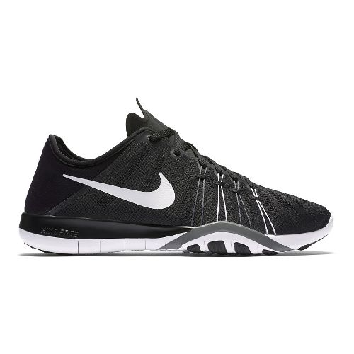 Womens Nike Free TR 6 Cross Training Shoe - Black/White 8.5