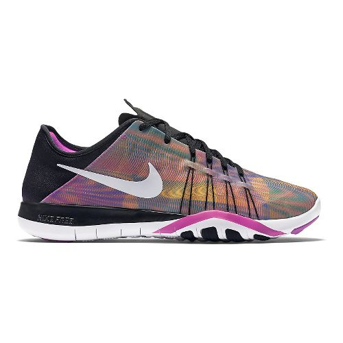 Womens Nike Free TR 6 Print Cross Training Shoe - Multi 9.5