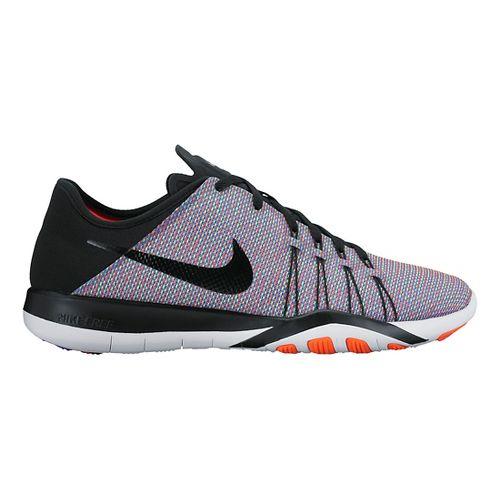Womens Nike Free TR 6 Print Cross Training Shoe - Blue/Multi 8.5