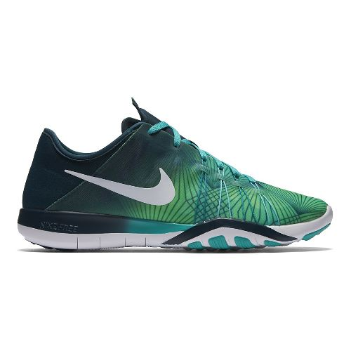 Womens Nike Free TR 6 Print Cross Training Shoe - Rio 8.5