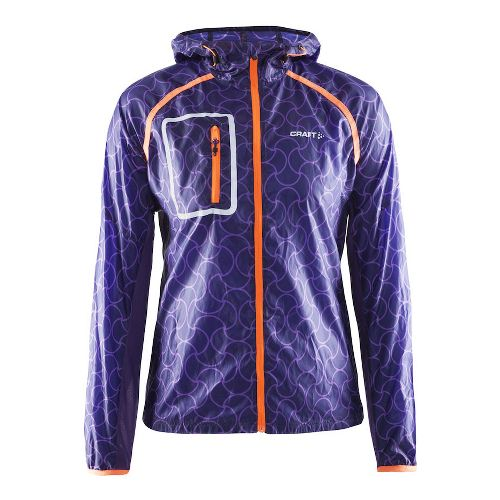 Womens Craft Focus Half-Zips & Hoodies Technical Tops - Dynasty/Lilac M