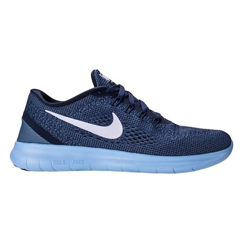 Mens Nike Free RN Running Shoe - Midnight 8.5
