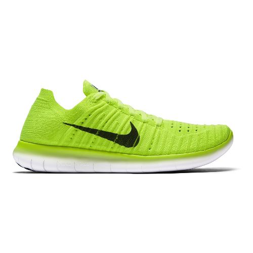 Womens Nike Free RN Flyknit Running Shoe - Medals Stand 9