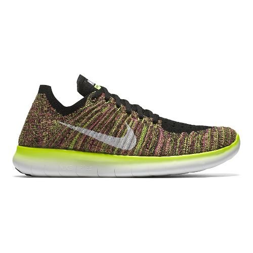 Womens Nike Free RN Flyknit Running Shoe - Summer Games 6.5