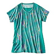 Womens Saucony Freedom Short Sleeve Technical Tops