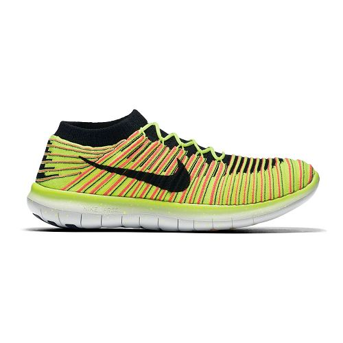 Mens Nike Free RN Motion Flyknit Running Shoe - Summer Games 9