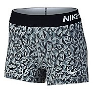 "Womens Nike Pro 3"" Cool Facet Compression & Fitted Shorts"