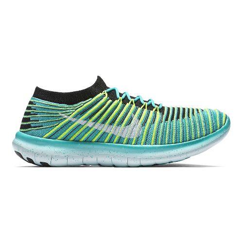 Womens Nike Free RN Motion Flyknit Running Shoe - Rio 7.5