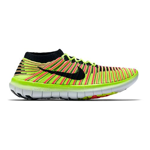 Womens Nike Free RN Motion Flyknit Running Shoe - Summer Games 9.5