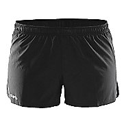 Womens Craft Focus Race Unlined Shorts - Black XS