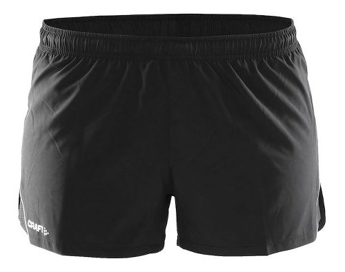 Womens Craft Focus Race Unlined Shorts - Black XL