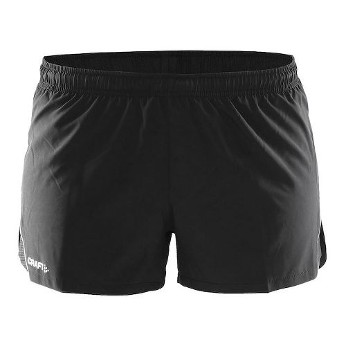Womens Craft Focus Race Unlined Shorts - Black XXL