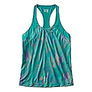 Womens Saucony Freedom Sleeveless & Tank Technical Tops