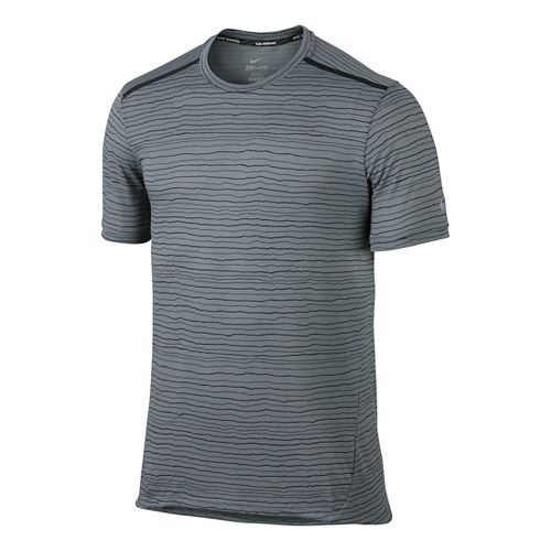 Men's Nike�Dri-FIT Cool Tailwind Stripe Short Sleeve
