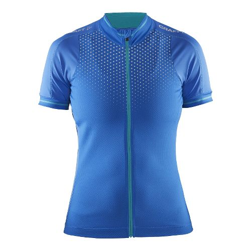 Womens Craft Glow Jersey Short Sleeve Technical Tops - View/Drop XS