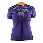 Womens Craft Glow Jersey Short Sleeve Technical Tops