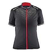 Womens Craft Glow Jersey Short Sleeve Technical Tops