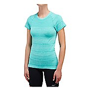 Womens Saucony Dash Seamless Short Sleeve Technical Tops