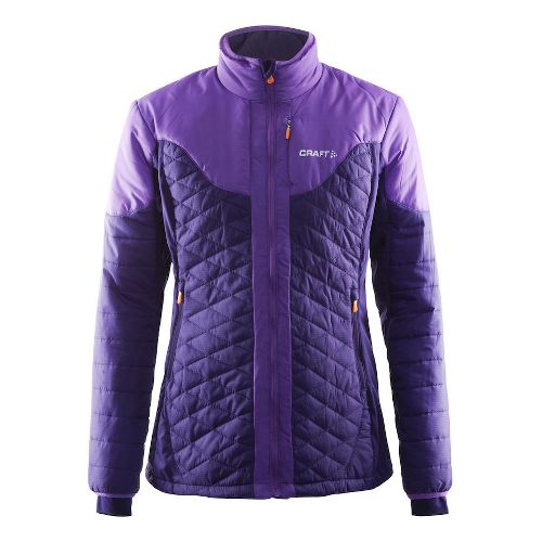 Womens Craft Insulation Cold Weather Jackets - Dynasty/Lilac L