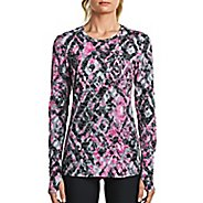 Womens Saucony Daybreak Long Sleeve Technical Tops