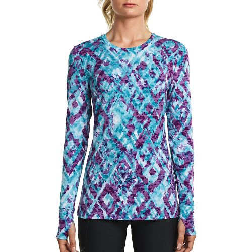 Womens Saucony Daybreak Long Sleeve Technical Tops - Barbados M