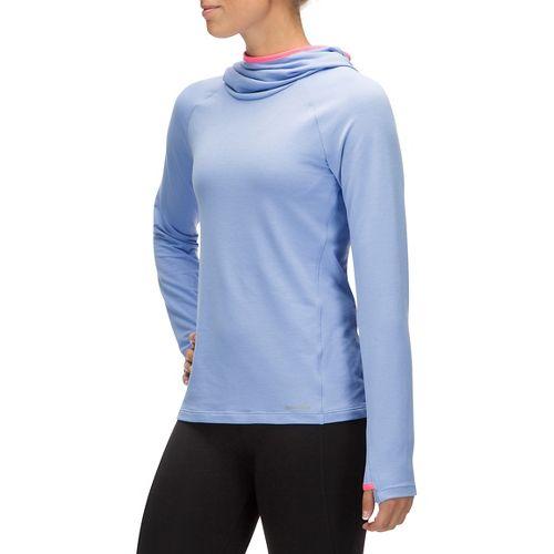Womens Saucony Evolution Hoodie & Sweatshirts Technical Tops - Periwinkle S
