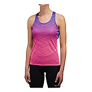 Womens Saucony Endorphin Singlet Sleeveless & Tank Technical Tops