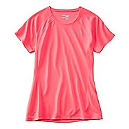 Womens Saucony Hydralite Short Sleeve Technical Tops