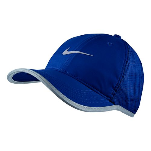 Mens Nike Run Knit Mesh Cap Headwear - Deep Royal