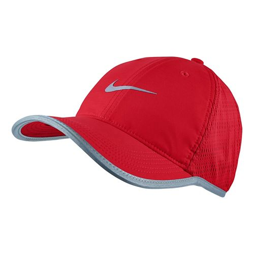 Mens Nike Run Knit Mesh Cap Headwear - University Red