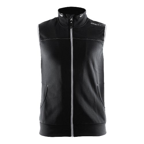 Mens Craft Leisure Vests - Black/Platinum S