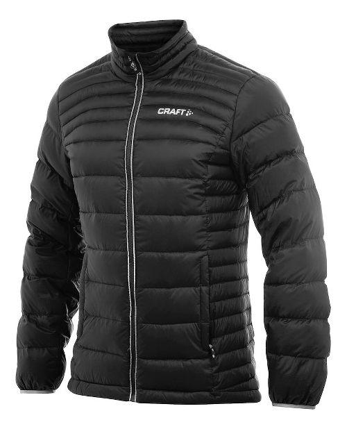 Mens Craft Light Down Cold Weather Jackets - Black/Platinum M
